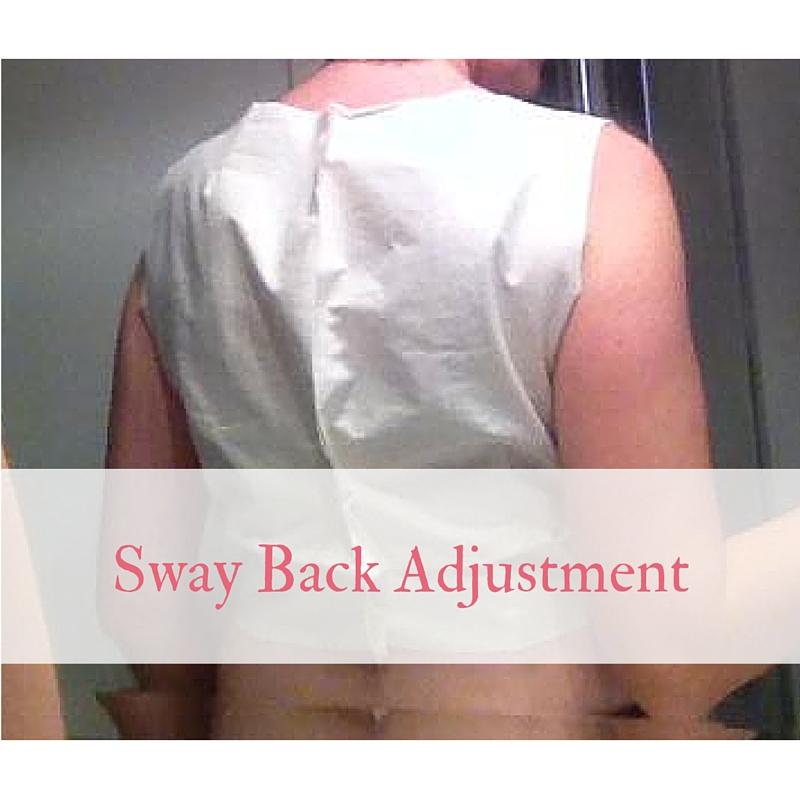 Sway Back Adjustment