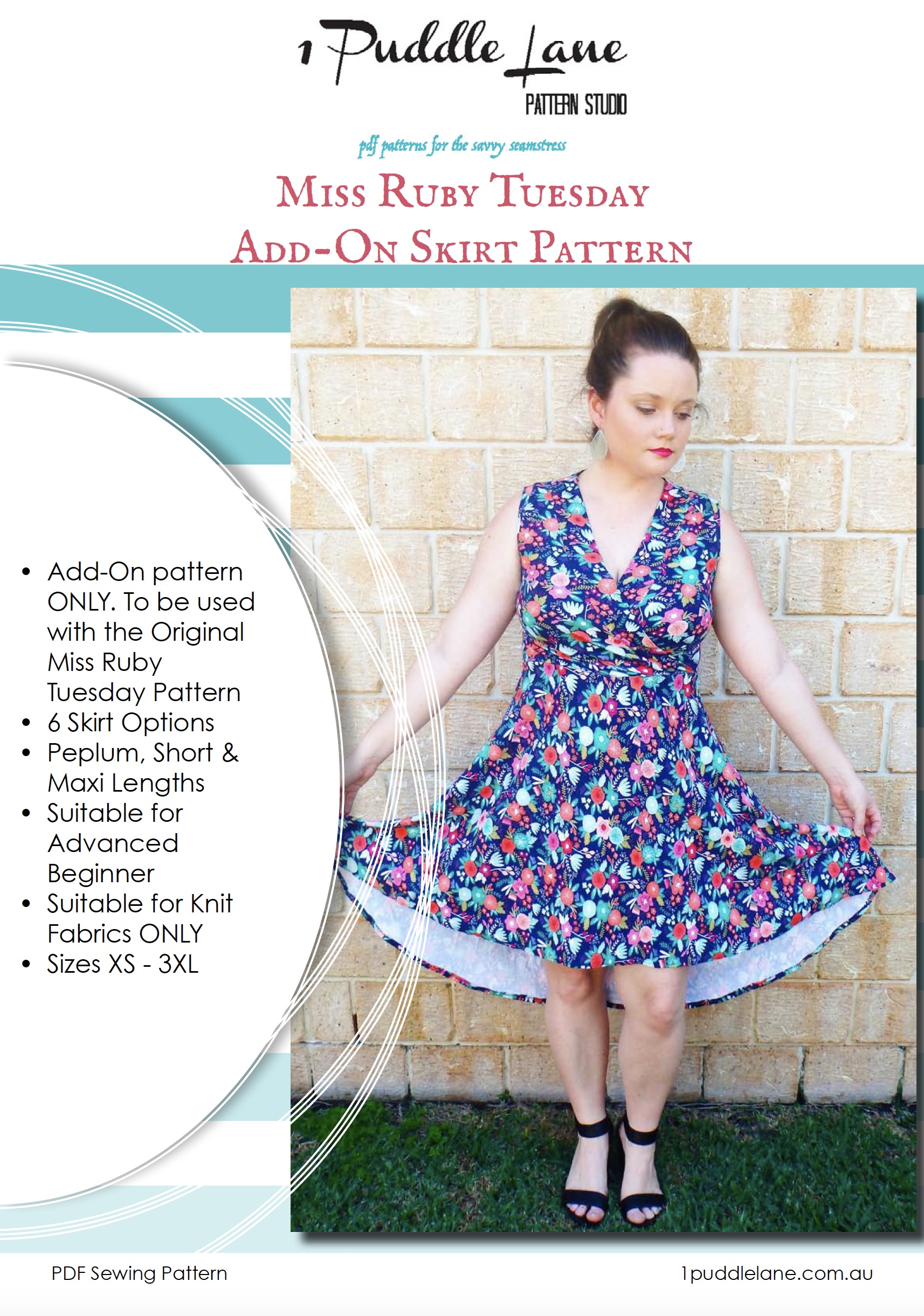 MiSS RUBY TUESDAY ADD-ON PATTERN – SKIRTS