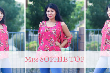 **NEW PATTERN**  Miss Sophie Top